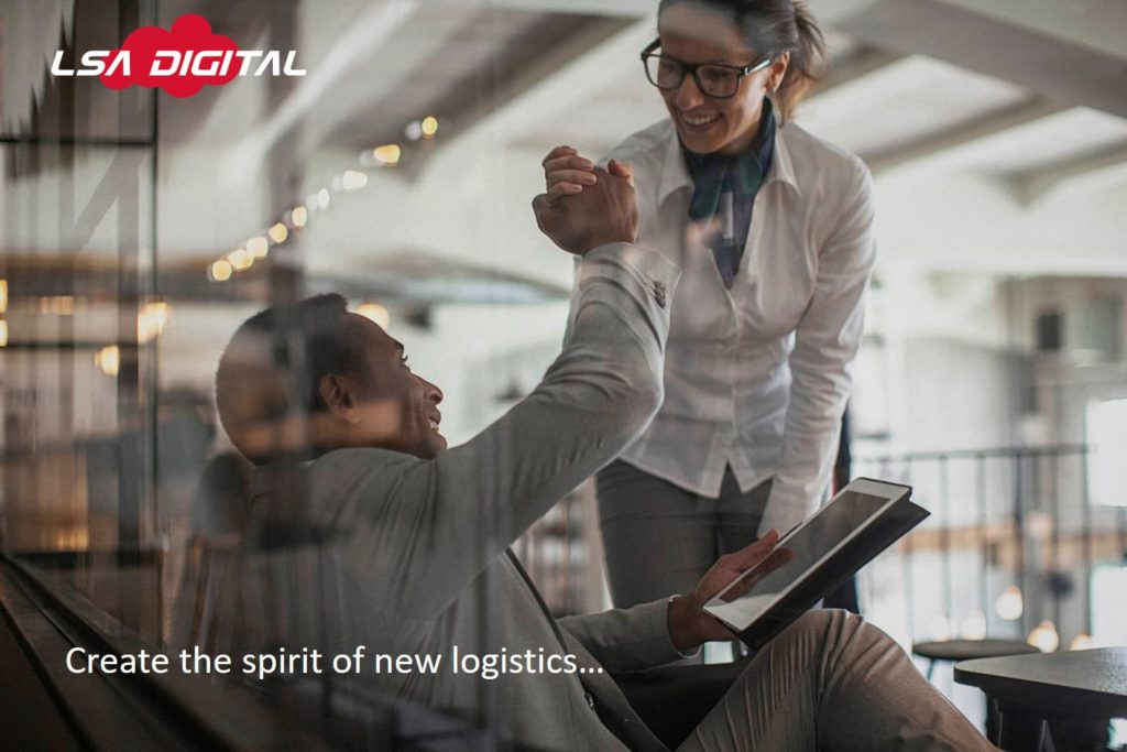 create the spirits of new logistics
